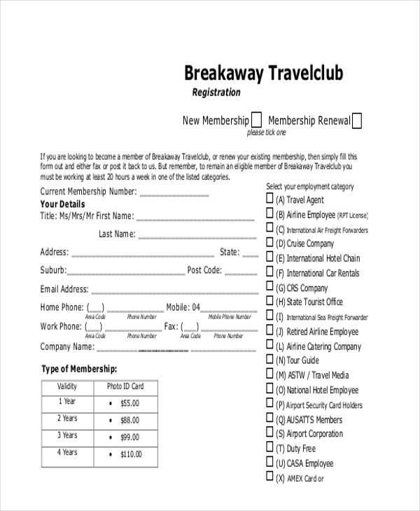 travel media registration form1