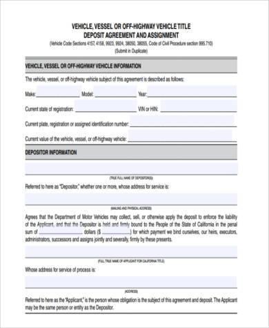vehicle deposit form in pdf1