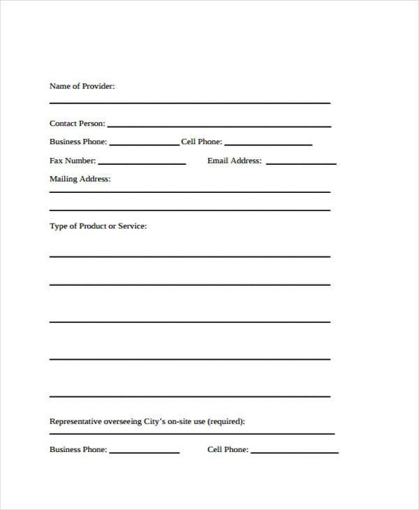 8+ Vendor Agreement Form Samples - Free Sample, Example Format ...