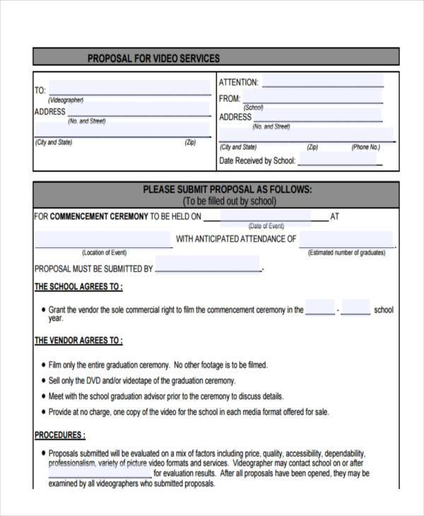 video services proposal form1