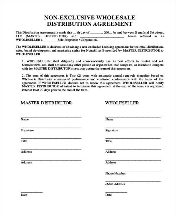 Master distributor agreement sample tiredriveeasy master distributor agreement sample platinumwayz
