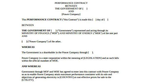 32 sample contract templates in microsoft word | hloom.