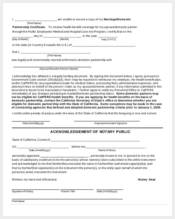affidavit form for proof of marriage1