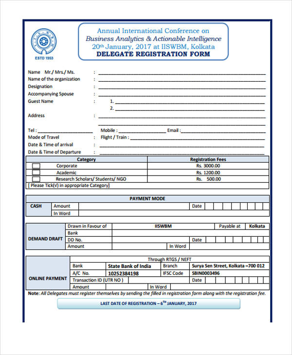 annual international conference registration form2
