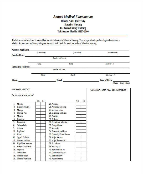 annual medical examination1