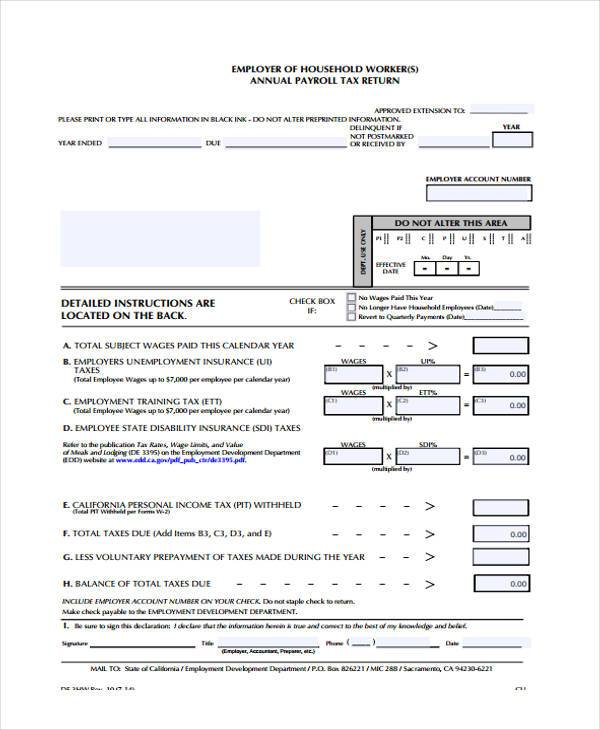 annual payroll tax form1