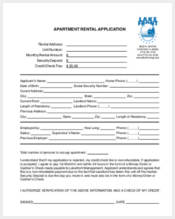 apartment rental application1