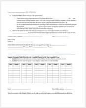 attorney general affidavit form