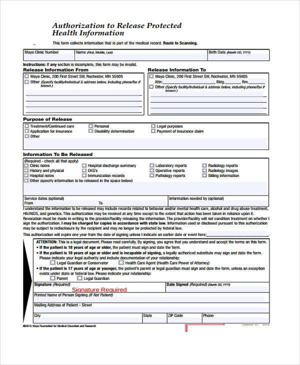 "releasing protected health information Gr-67938 (12-17) p authorization for release of protected health information (phi) echs category - phia my health record is private and is known under the law as ""protected health information (phi)""."