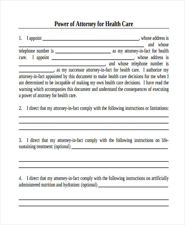 Adorable image with printable medical power of attorney