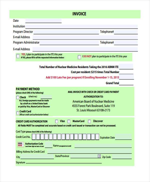 basic invoice form1