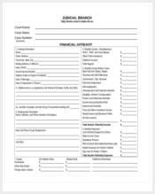 blank financial affidavit form1