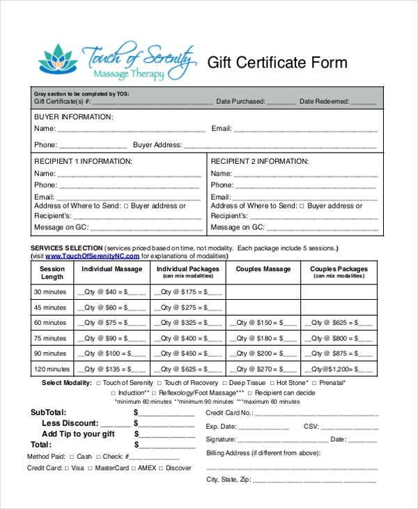free 42  certificate forms in pdf