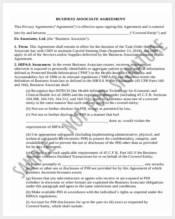 business associate agreement form11