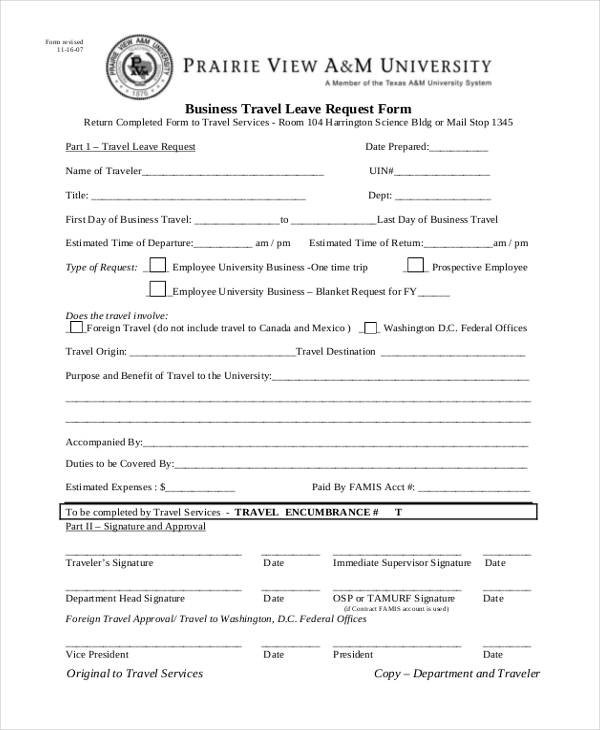 business travel leave request form2