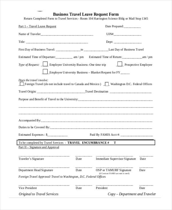 business travel leave request form3