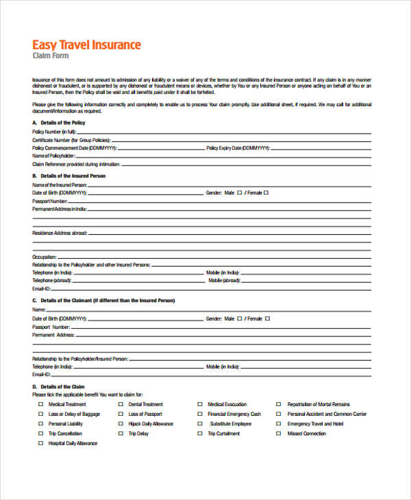 business travel plan form