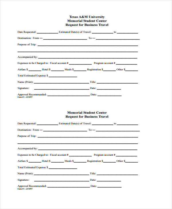 business travel request form4