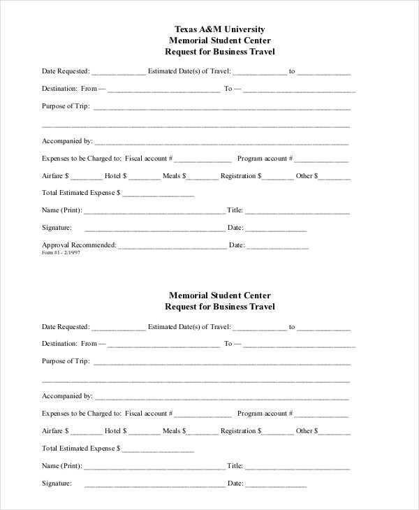 business travel request form7