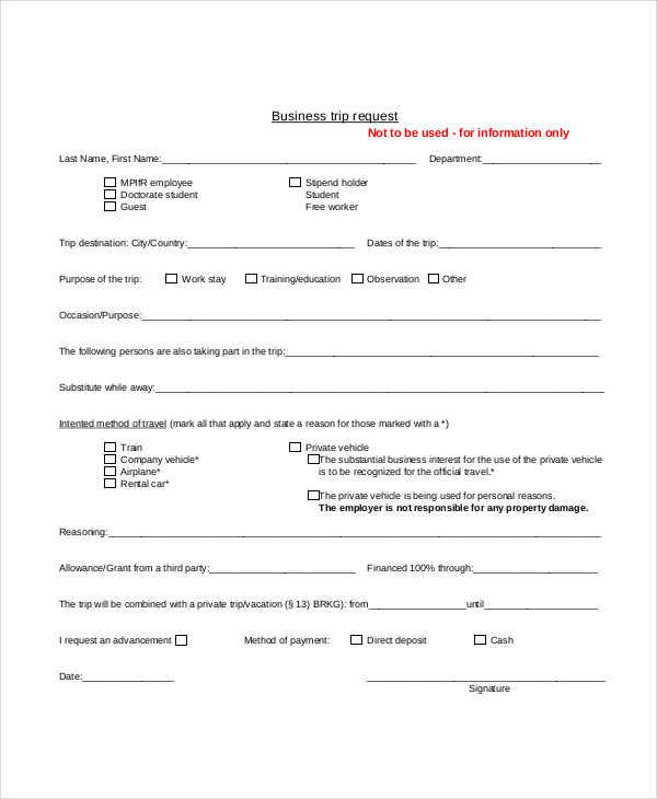 business trip request form2