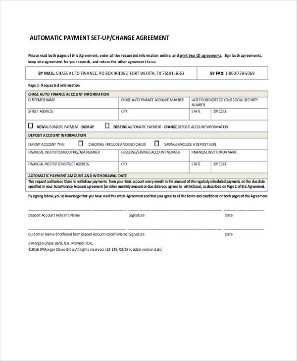 Car Loan Payment Agreement1