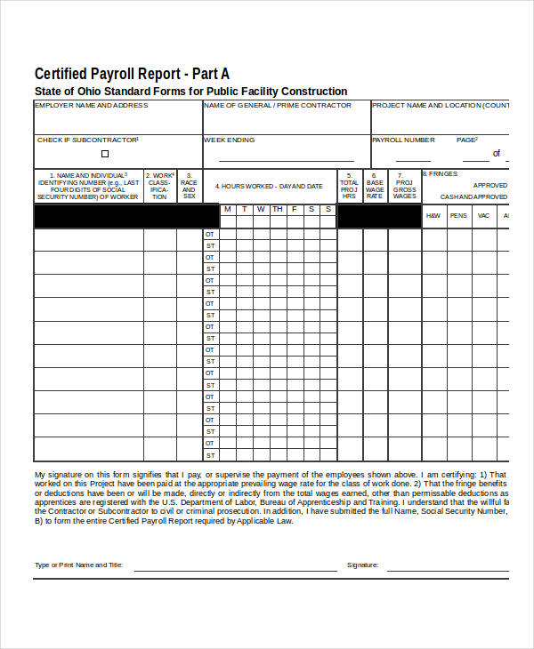 21 payroll forms in excel