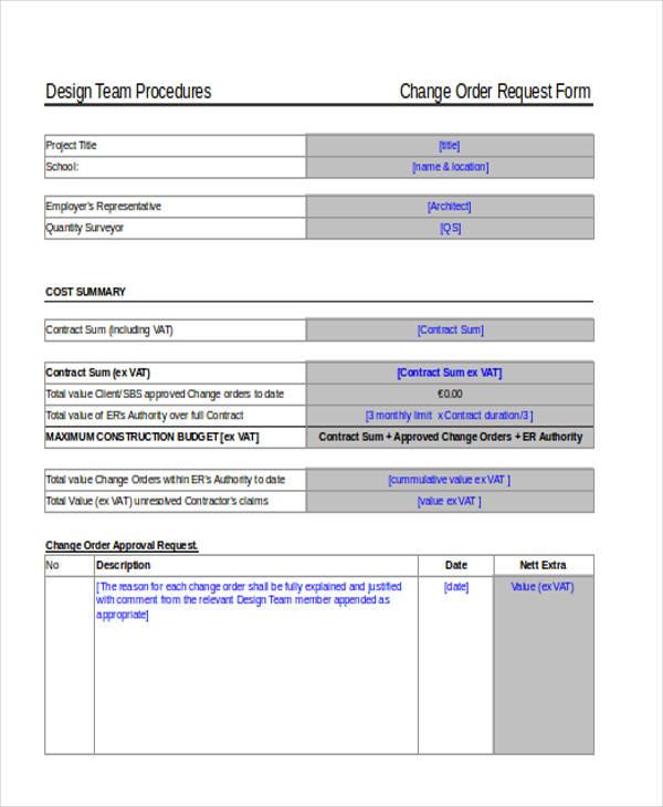 change order request form3