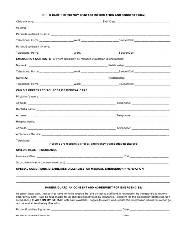 child care emergency contact form2