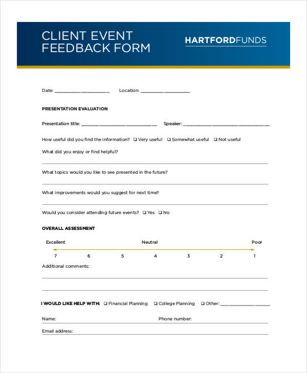 client event feedback form1