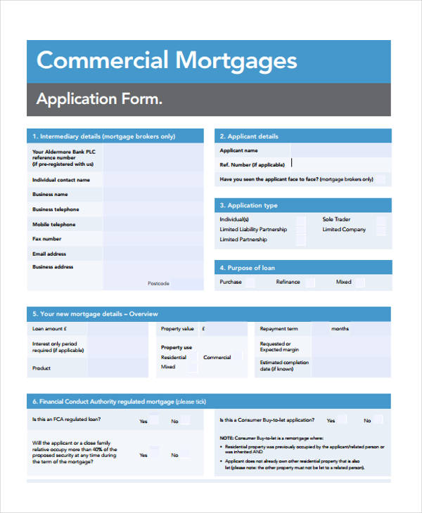 commercial mortgage loan agreement
