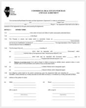 commercial real estate purchase agreement form3