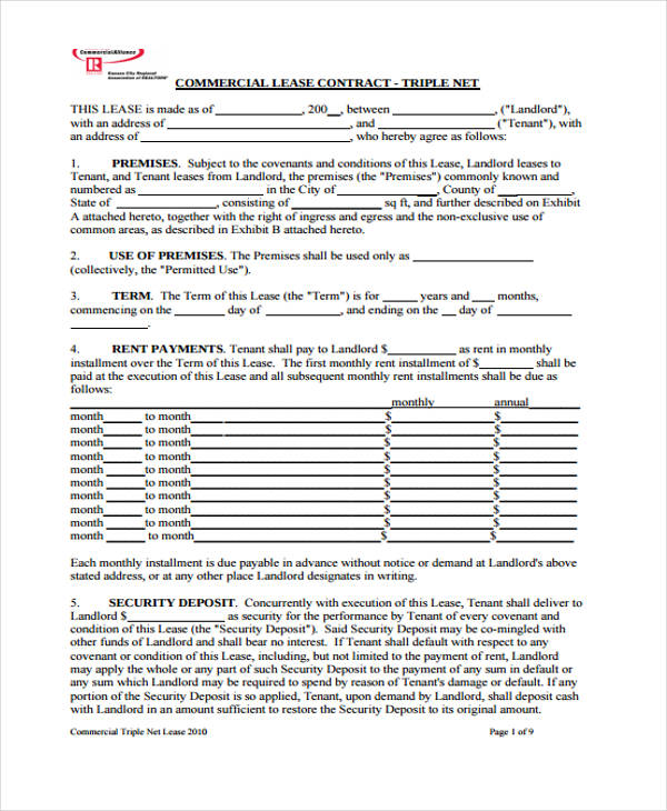 Free Business Agreement Form   Free Documents In Word Pdf