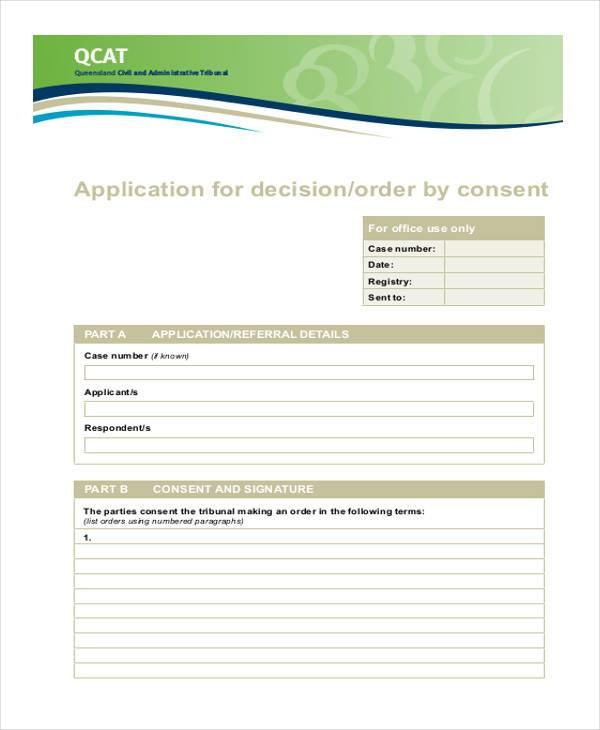 Consent Form Samples Free Sample Example Format Download