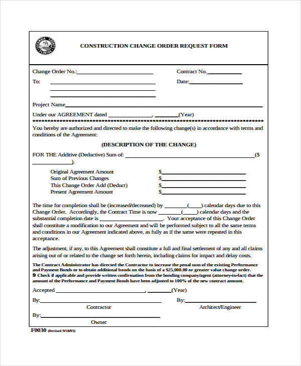 construction change order form3