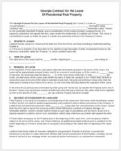 contract lease agreement form