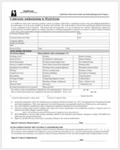 contractor work authorization form11