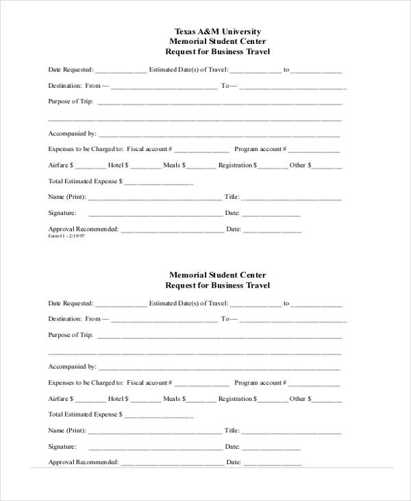 corporate business travel request form2