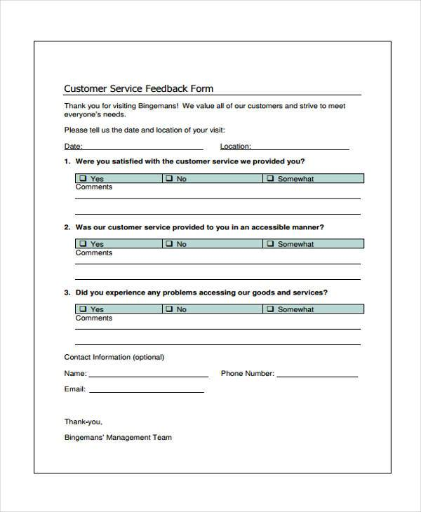 customer service feedback form3