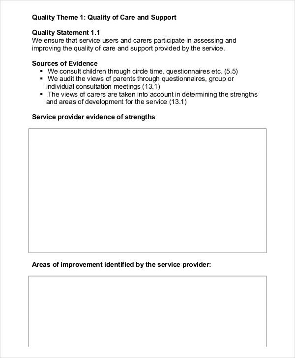 daycare children self assessment form1