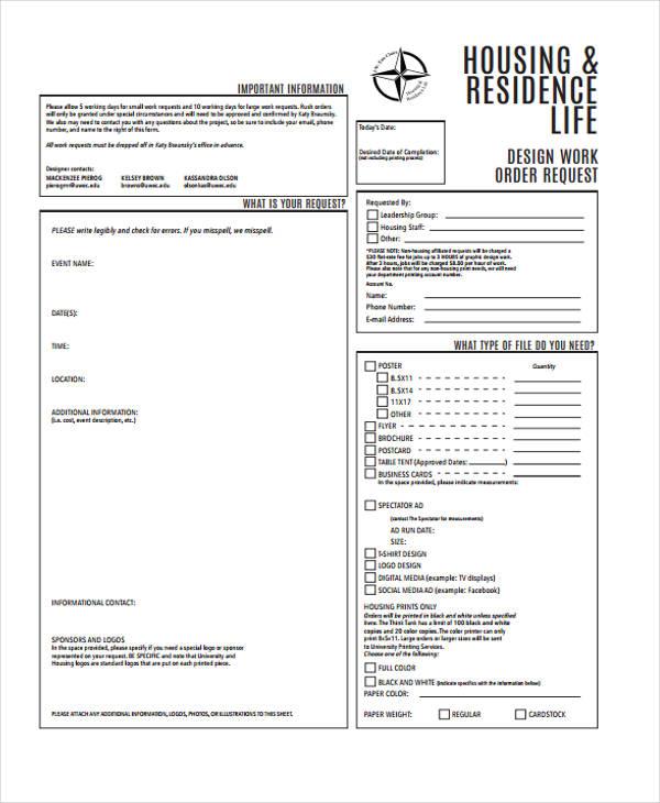 design work order form1