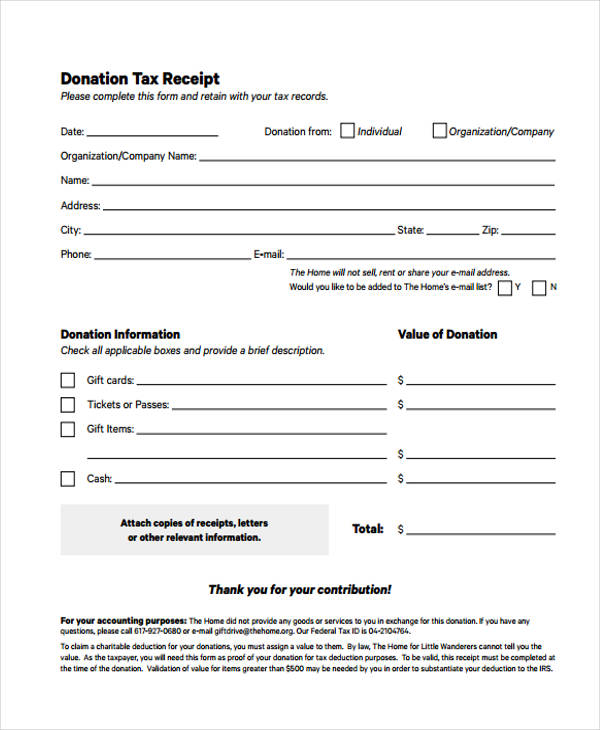 printable receipt forms 41 free documents in word pdf. Black Bedroom Furniture Sets. Home Design Ideas