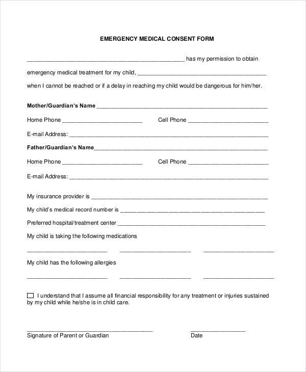 emergency medical consent form3
