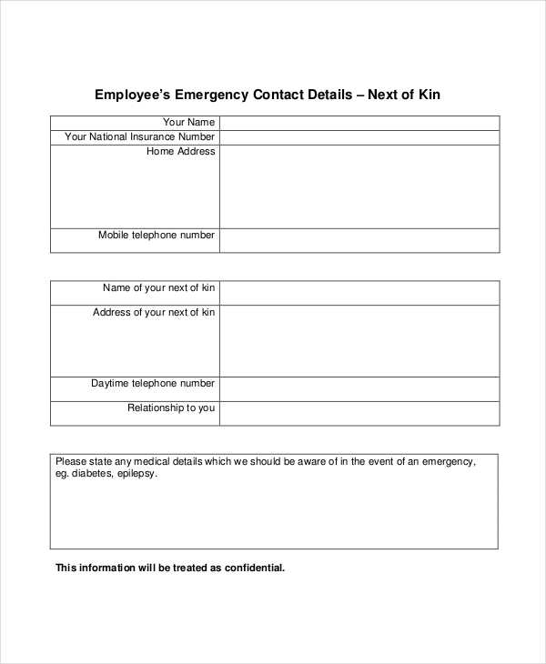 employee emergency contact details form2