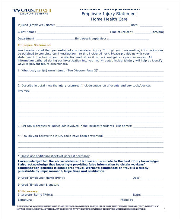 employee injury statement form3