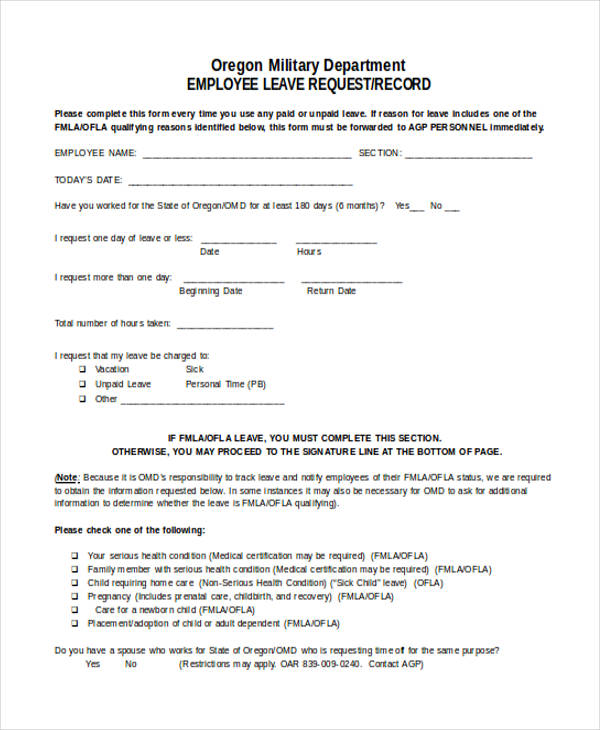 employee leave request form1
