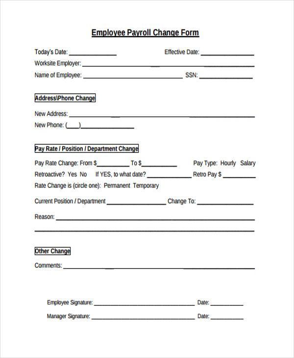 employee payroll change form4