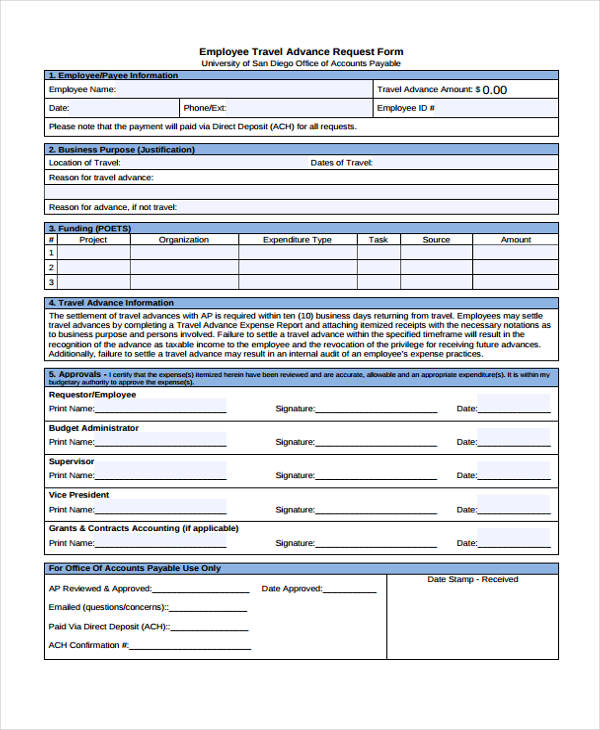 information request form template