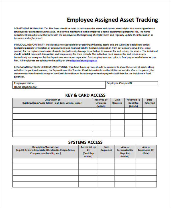 employee vacation tracking form1