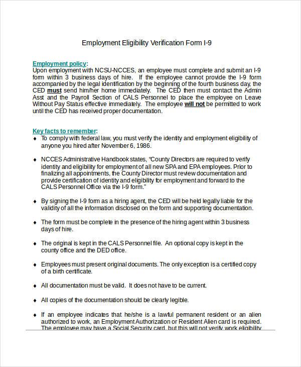employment eligibility verification form2