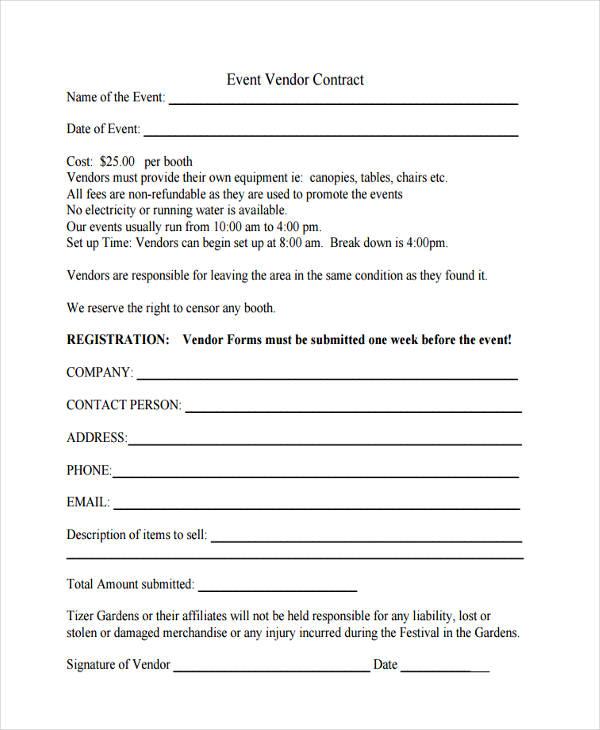 event vendor contract form2